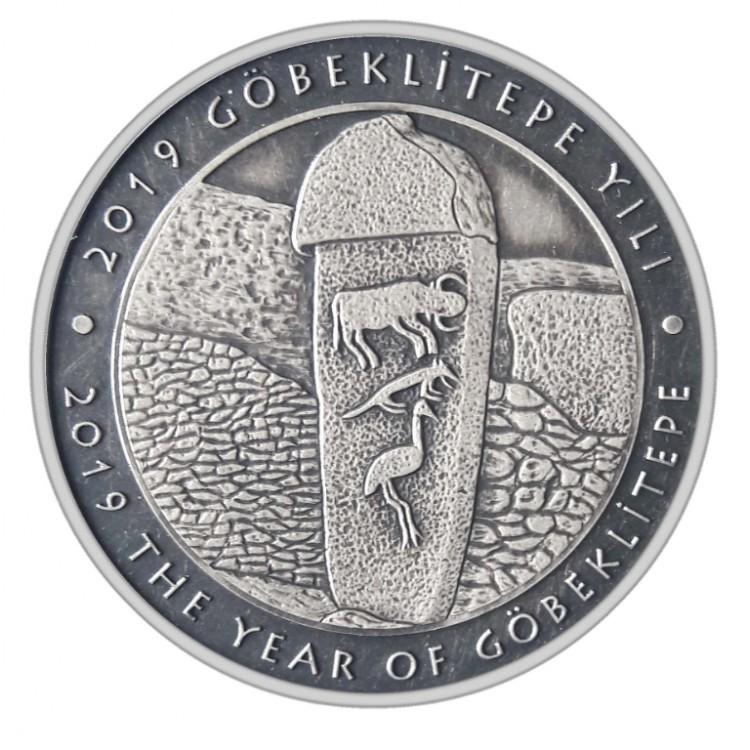 Göbeklitepe Yılı - Gümüş - Çil (Sertifikalı) 2019